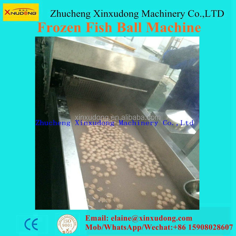 China frozen food fish ball machine hot sale