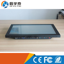 High quality Full aluminum Mini PC Case RTL 8111D 1000 Lan ports Mini PC, fanless desktop,wall mounted industry computer