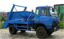 Chinese Brand 140hp 4x2 Garbage Trucks/7 cbm Swing Arm Truck