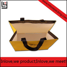 SHOPPING BAG,GROCERY BAG Industrial Use and Recyclable Feature square bottom paper bag