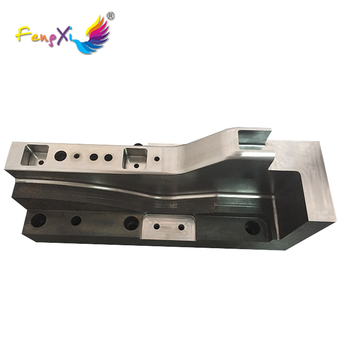 Making high quality standard car aluminum auto component mold by mini cnc milling machine