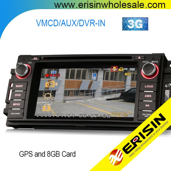 "Erisin ES6061M 6.2"" 1 Din Touch Screen Car DVD GPS Player for Jeep Caliber"