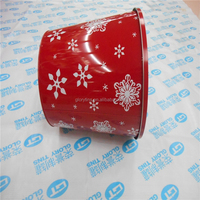 large bucket tin box, biscuit tin, tin for biscuit packing