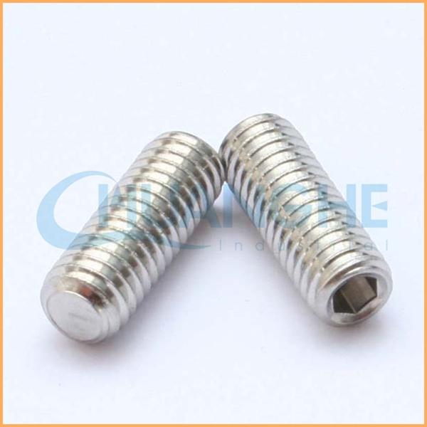 Competitive price Various size aluminum thread hollow screw