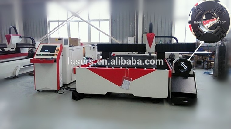 laser cut metal sheet and tube fiber laser cutting machine