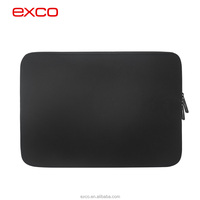 Factory in Guangzhou EXCO New arrival nylon black neoprene eco-friendly laptop cover case for macbook