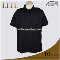 Competitive price factory supply collarless casual shirt
