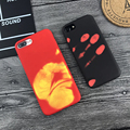 2017 Hot Sale Heat Sensitive Case for iphone 6 6s plus 7 7 plus Soft TPU Case Cover HOT Discoloration Changed Color Thermal Case