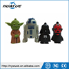 The Best Selling 2016 New Star War USB 2.0 R2D2 Flash Drive Darth Vader Flash Stick Storm Trooper Pendrives