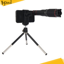 Topaul new arrival high quality digital optics 25X telephoto zoom lens with tripod for mobile phone camera