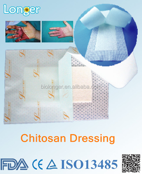 Chitosan dressing pain killer plaster