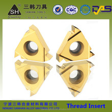 SANDHOG cnc ISO carbide buttress threading inserts for threading tool holder