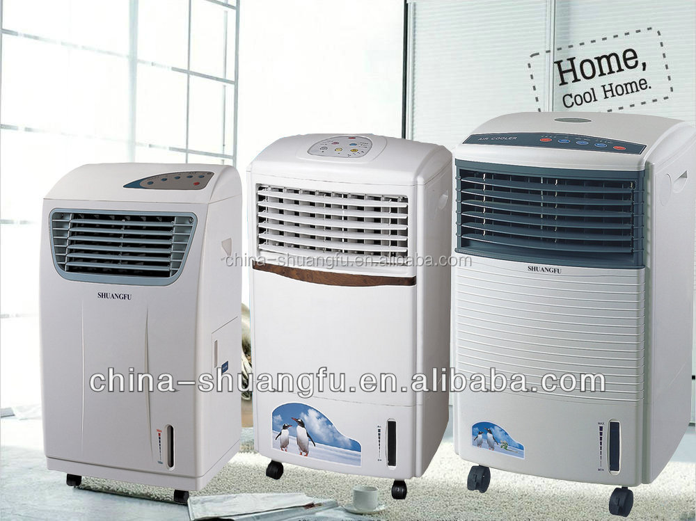 Water Air Coolers : Electric water evaporative air cooler portable