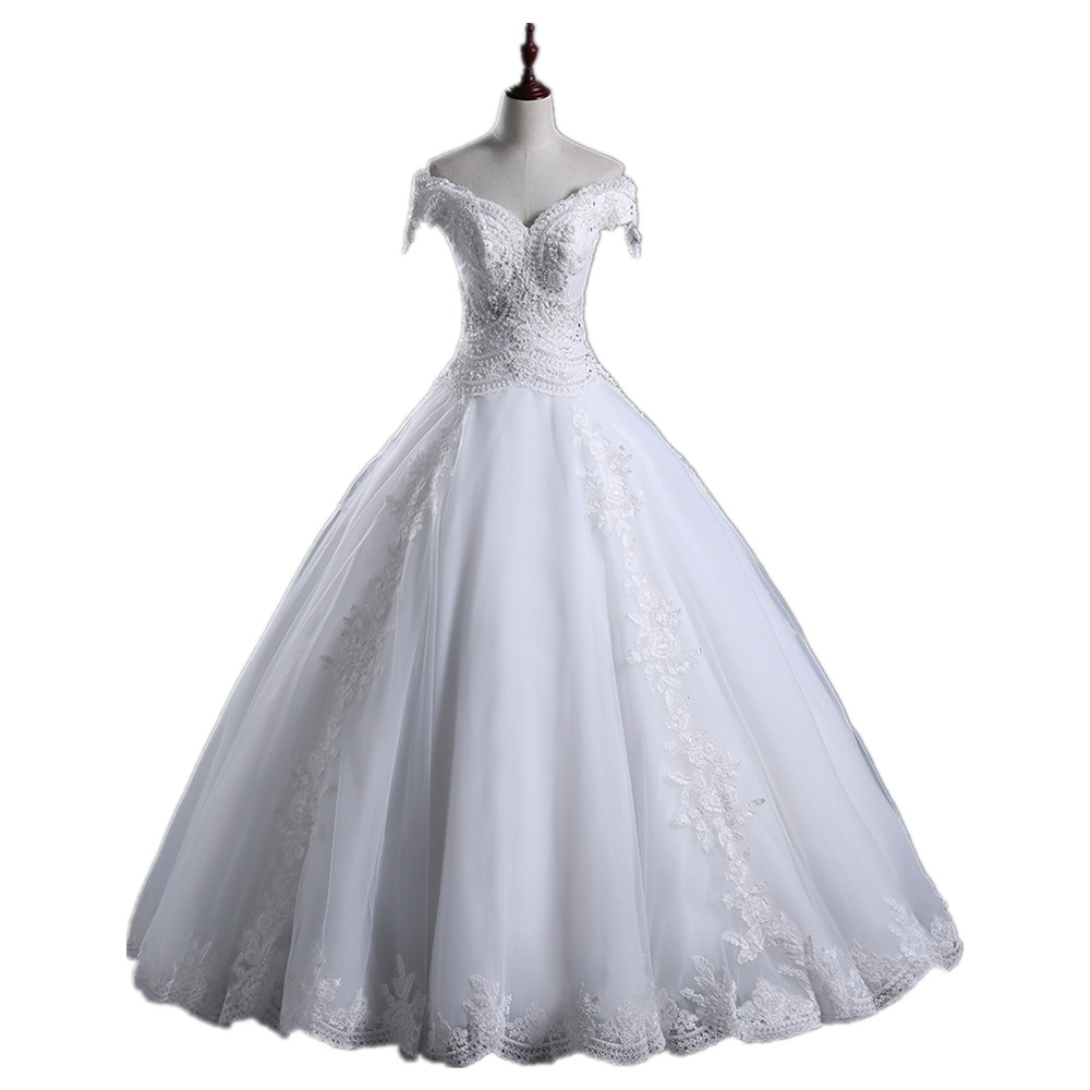 Bridal Gowns Puffy StrongLace Strong StrongWedding