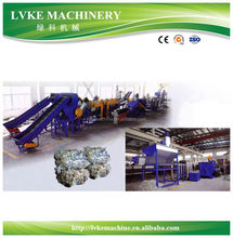 LVKE recycling series Plastic Bags Films Washing Drying system