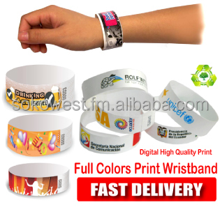 customize Wristband one time use