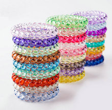 traceless hair ring hot bracelet fashion telephone wire band twist band