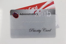 Top level best sell plastic transparent pvc card id