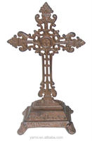 RELIGIOUS METAL STAND CROSSES