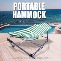 folding one person portable hammock