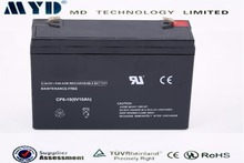 6v 10Ah drained lead acid battery scrap sealed lead acid battery