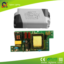 24v 20w 590ma constant current led power supply switching for led bulb driver
