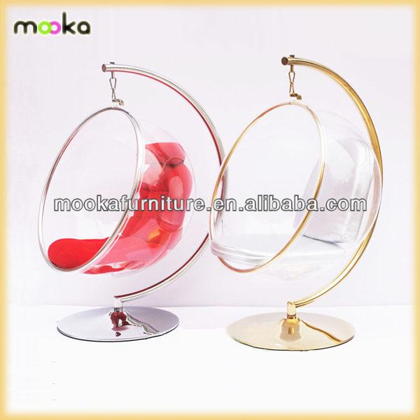 eero aarnio acrylic hanging bubble chair mkpb