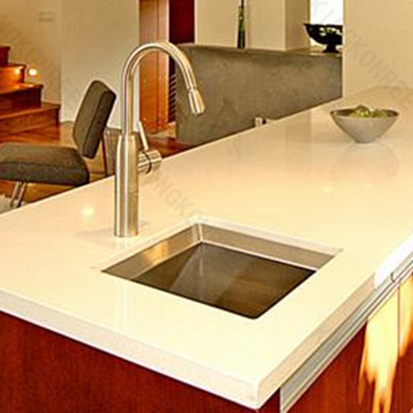 Cultured marble quartz stone counter top/ kitchen modern table top