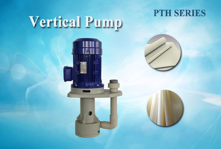 Anti-corrosion electric acid circulation vertical pump for gold plating