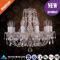 2016 chic turkish bohemia CE K9 crystal high end pendant light