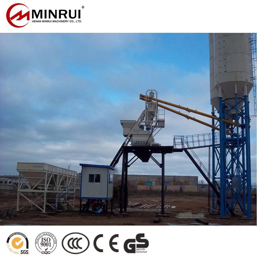 Manufacturer Supplier 50 cbm plant concrete batching with great price