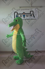 yellow belly Crocodile mascot costumes