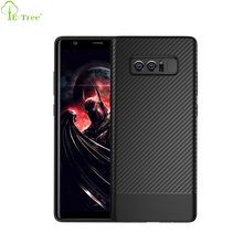 Ultra Thin Carbon Fiber Pattern Soft TPU Mobile Phone Cover Case For Samsung Galaxy Note 8