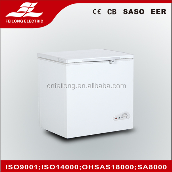 210LTop open chest freezer with CE/CB,supermarket chest freezer