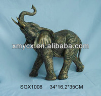 Resin large elephant animal statue for 2014