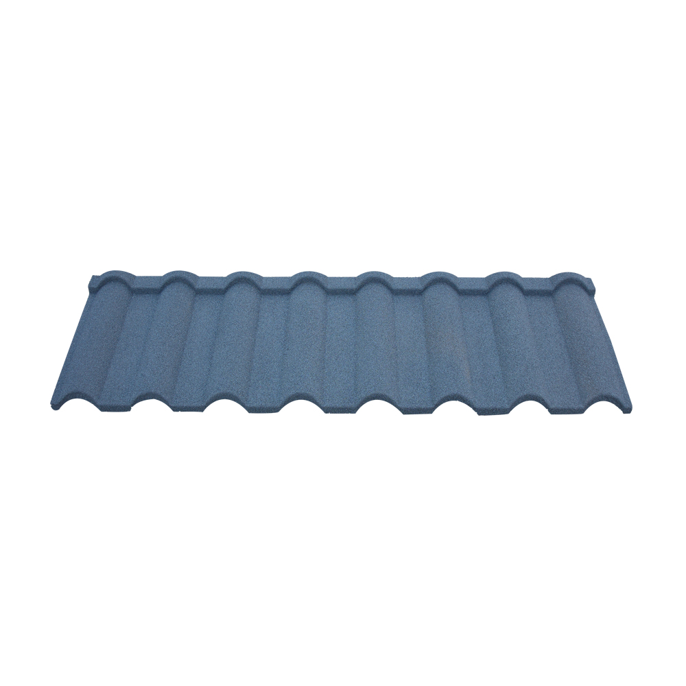 Low Cleaning Cost Kingbeck Roofing Solution KBM 01 Color Coated Roof Tiles