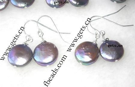 Gets.com freshwater pearl clear crystal drop pendants
