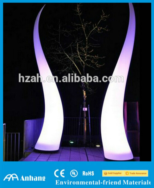 Party Decoration Inflatable Cone with Led Light/Outdoor Lighting Cone
