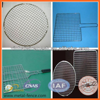 Galvanized Barbecue Grill Wire Mesh/Barbecue Wire Mesh/Stainless Steel Barbecue BBQ Grill Wire Mesh Net
