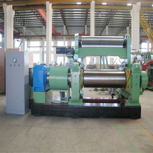 "New Technical Design China Dalian High Quality Rubber Plastic Two Roll Mixing Mill / Open Mixing Mill / Rubber Mill XK-360 (14"")"