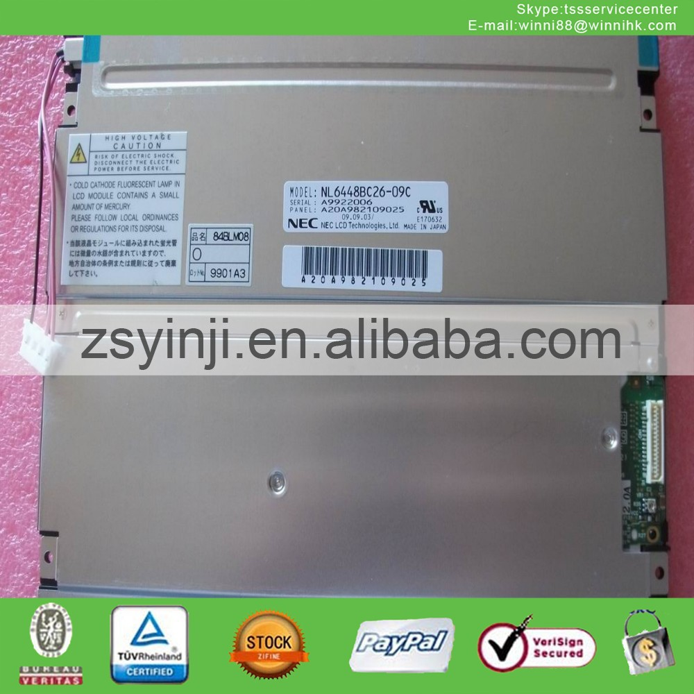 for NEC 8.4 TFT Industrial LCD NL6448BC26-09C