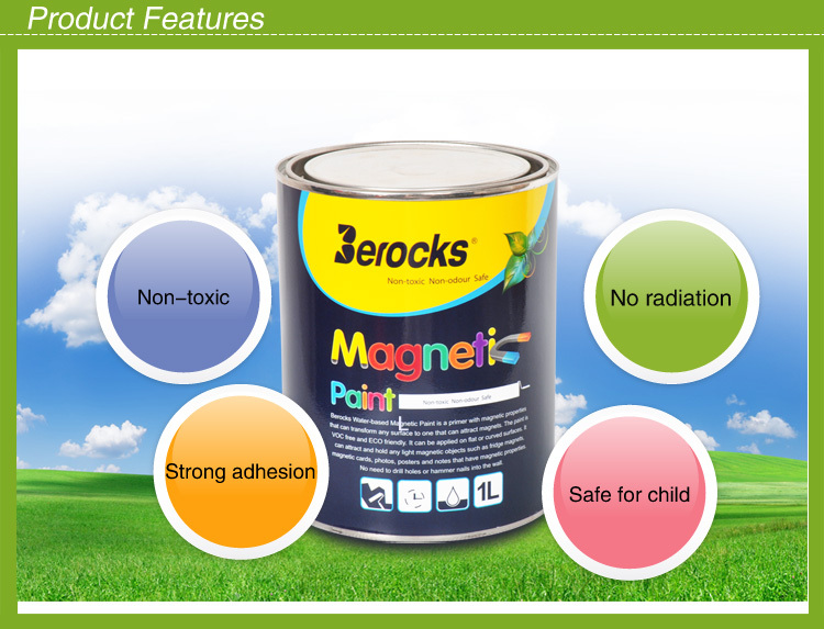 1L Eco-friendly washable magnetic paint