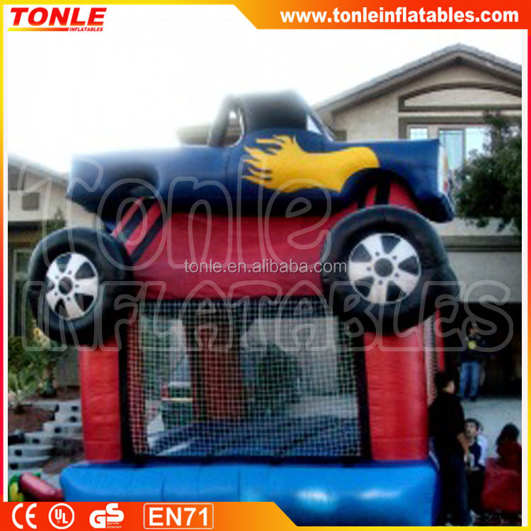 Inflatable Monster Truck Bounce House for sale