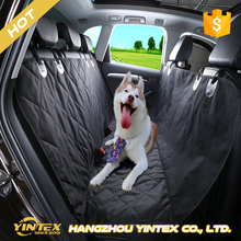 600D oxford waterproof PU coated color-resistant anti-UV dog pet car seat cover for hot selling