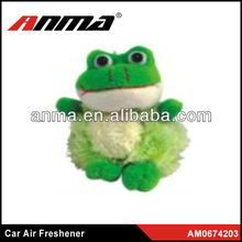 Nice anima cartoon shape car paper air freshener mint air freshener