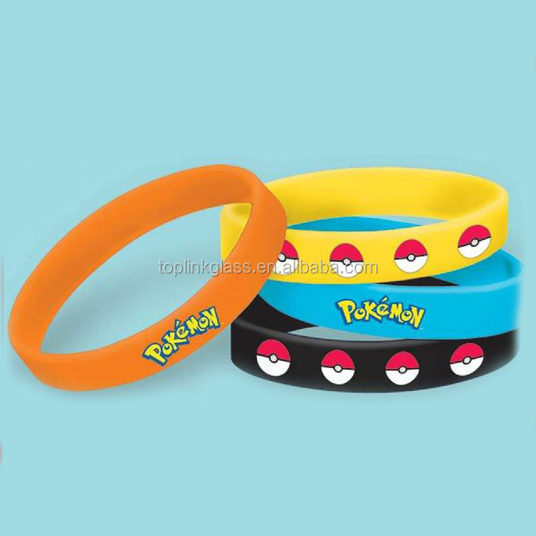 pokemon ball Silicone Wrist Band