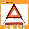 Car accessories for red safety reflective warning triangle for emergency