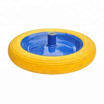 4.00-10 Foam Filled Wheel Used For Wheel Barrow Garden Cart