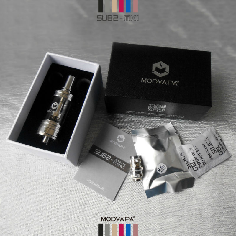 MODVAPA hit product atomizer with big amount of vapor &rebuildable coil for atomizer