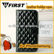 for samsung galaxy s4 case Fashion Cell Phone Cover/Ultra Slim Leather Case for Samsung S4